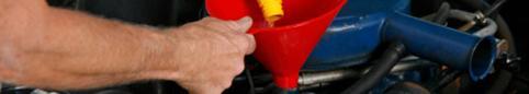 Getting rid of used motor oil