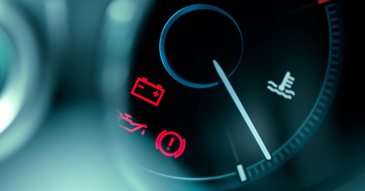 Lumières dans le tableau de bord de votre auto