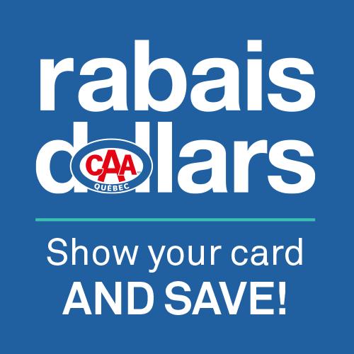 Pret A Rabais >> Rabais Dollars Caa Rewards Program Caa Quebec