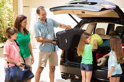 Vacationing on the road with your family? Be sure your car is properly inspected.